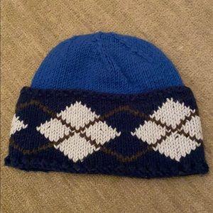 Grevi Blue Argyle Hat